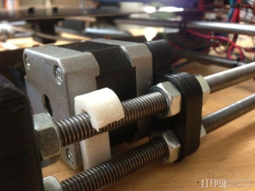 打印机Y轴马达稳定器 3D模型  图1