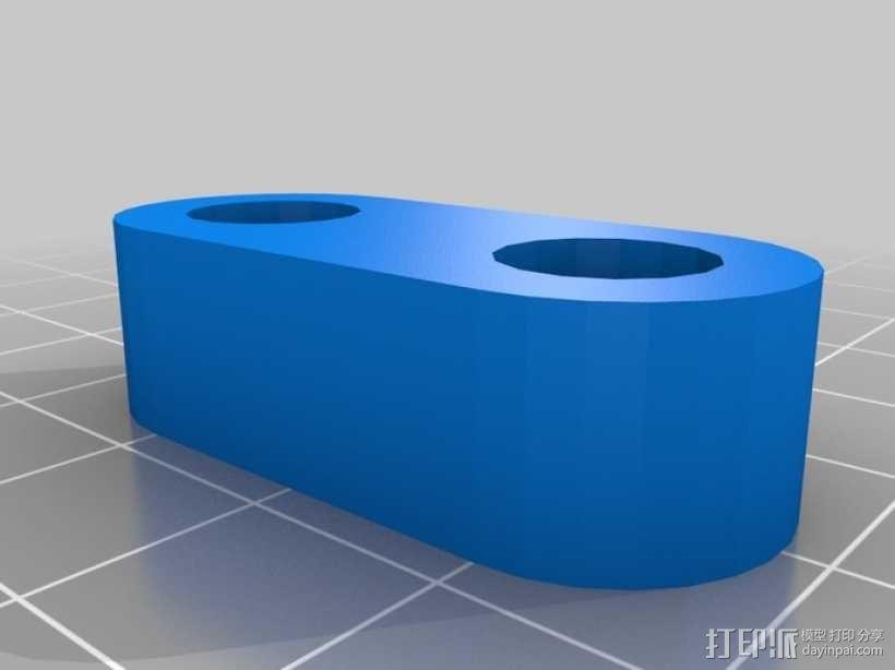 打印机Y轴马达稳定器 3D模型  图3