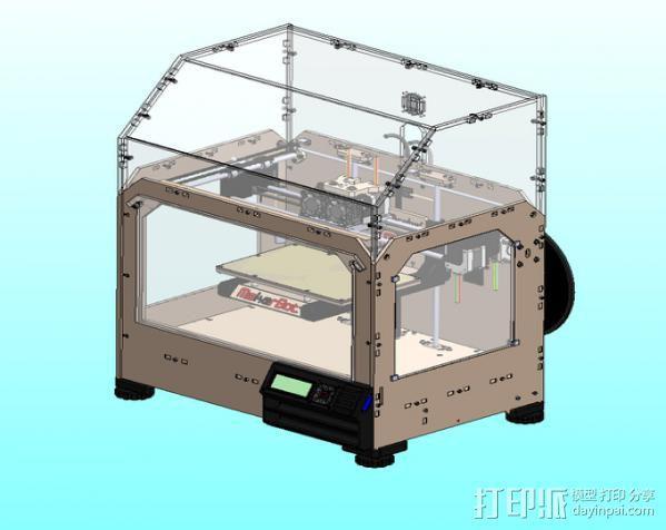 MK8双挤出机  3D模型  图5