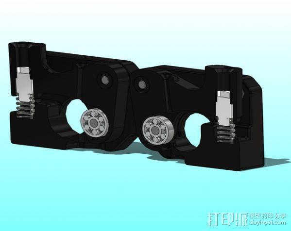 MK8双挤出机  3D模型  图4