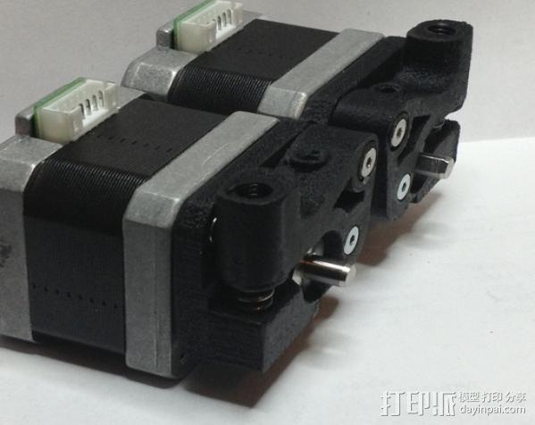 MK8双挤出机  3D模型  图6