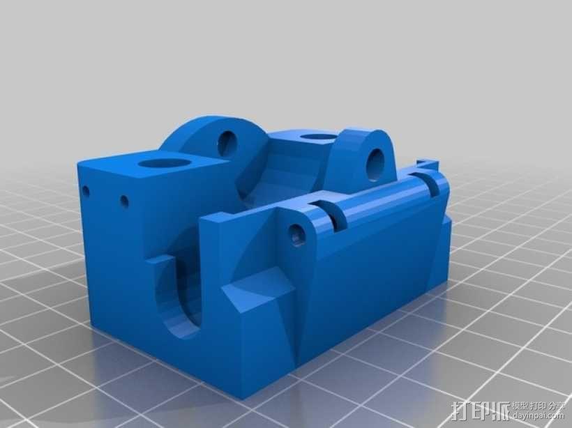 打印机X轴和Y轴部件 3D模型  图2