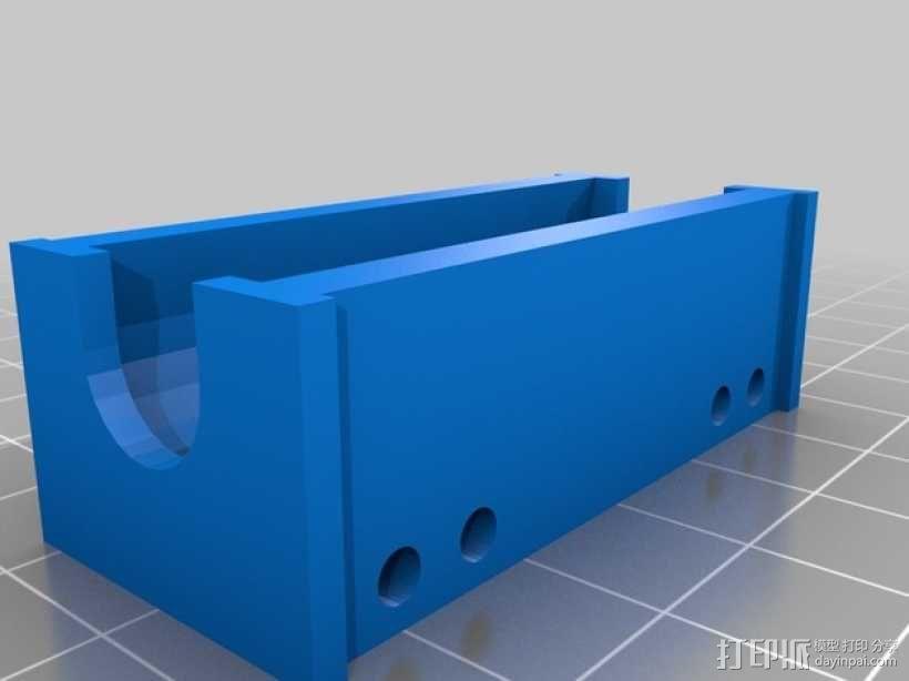 打印机X轴和Y轴部件 3D模型  图3