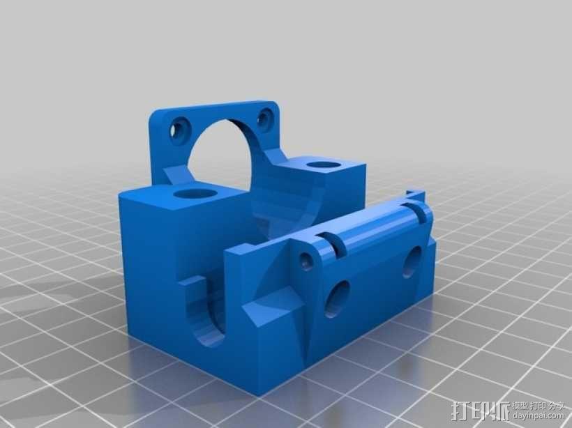 打印机X轴和Y轴部件 3D模型  图6