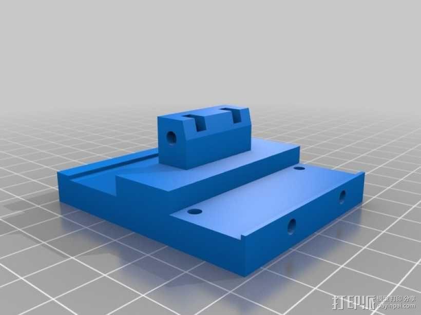 打印机X轴和Y轴部件 3D模型  图5