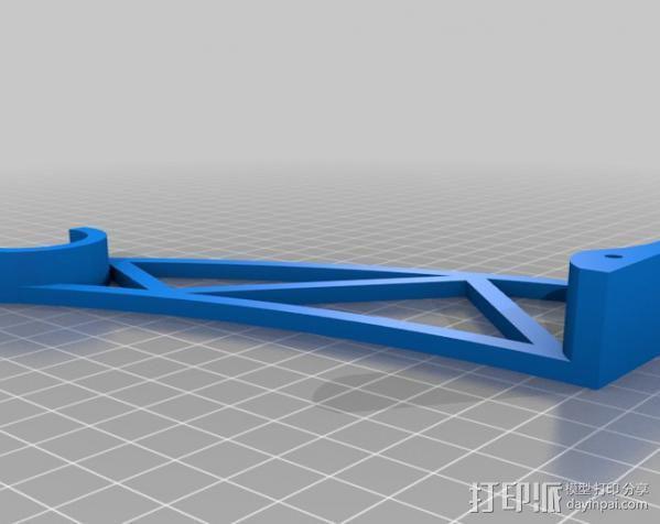线轴支架 3D模型  图6
