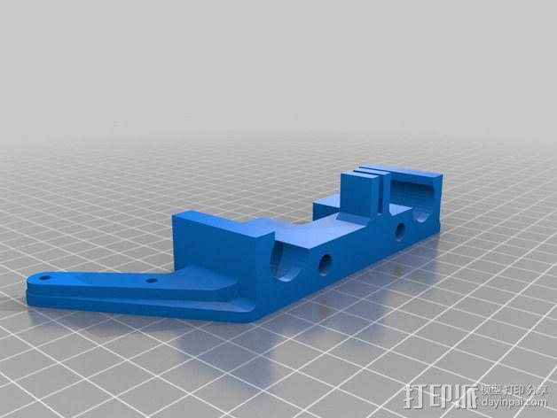 自制3D打印机 3D模型  图3