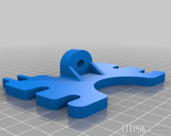 自制3D打印机 3D模型  图17