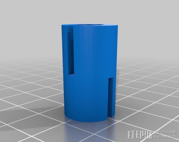 打印机Z轴耦合器 3D模型  图2