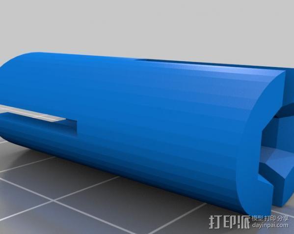 打印机Z轴耦合器 3D模型  图4