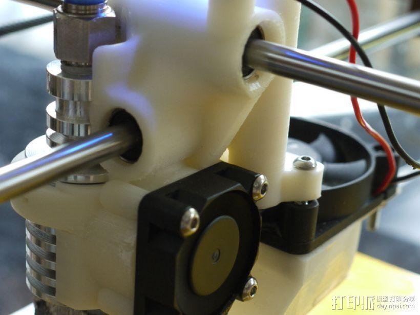 打印机喷嘴支架 3D模型  图1