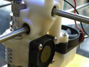 打印机喷嘴支架 3D模型