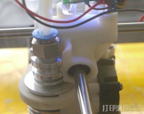 打印机喷嘴支架 3D模型  图7