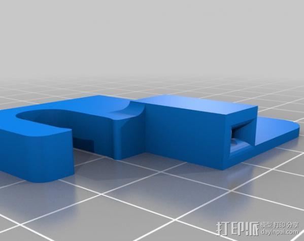线材固定器 导线器  3D模型  图2