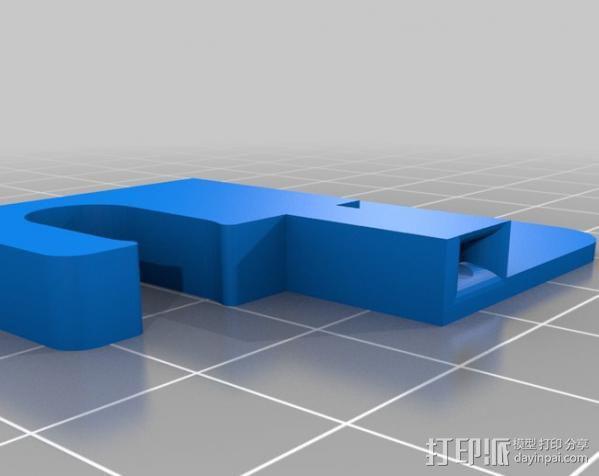 线材固定器 导线器  3D模型  图3