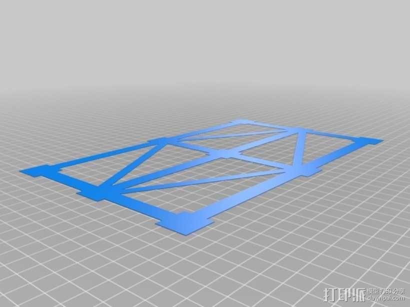 调平测试 3D模型  图1