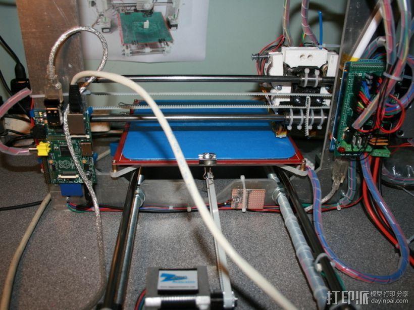 Rapsberry Pi 树莓派安装支架 3D模型  图5