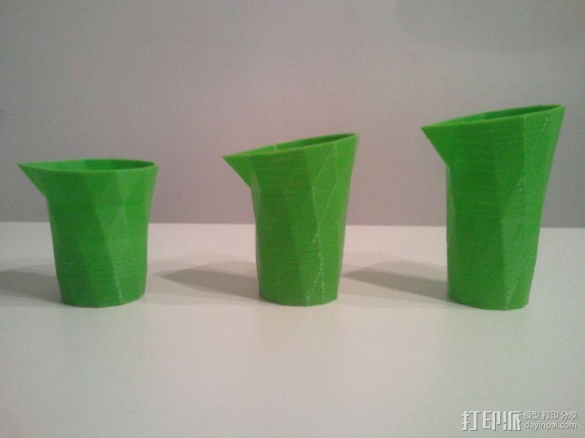 笔筒 花瓶 收纳盒 3D模型  图3