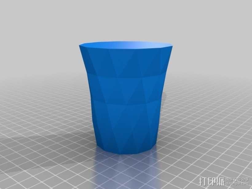 笔筒 花瓶 收纳盒 3D模型  图5