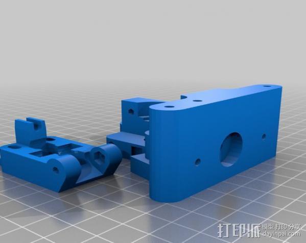 Prusa i3打印机X轴部件 3D模型  图5