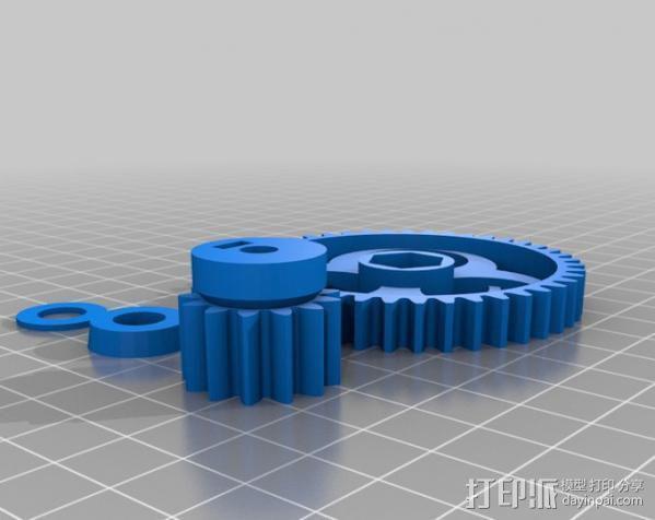 Prusa i3打印机X轴部件 3D模型  图7