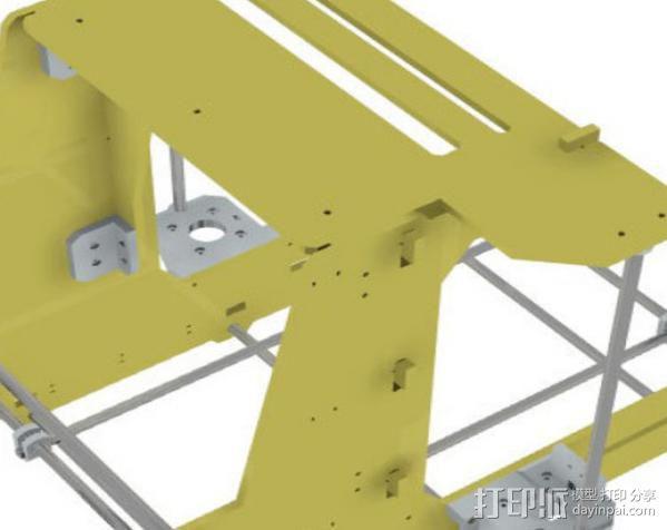 prusa Air 2打印机 3D模型  图13