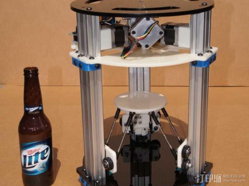 迷你 Delta式打印机 3D模型  图1