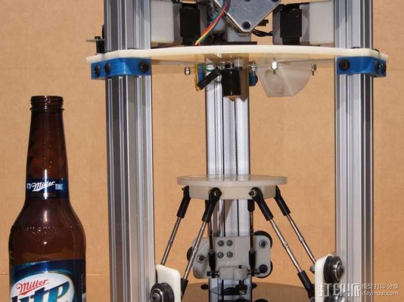 迷你 Delta式打印机 3D模型  图2