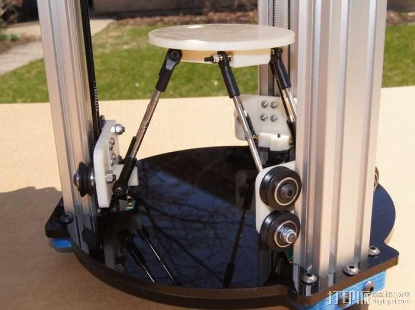 迷你 Delta式打印机 3D模型  图5