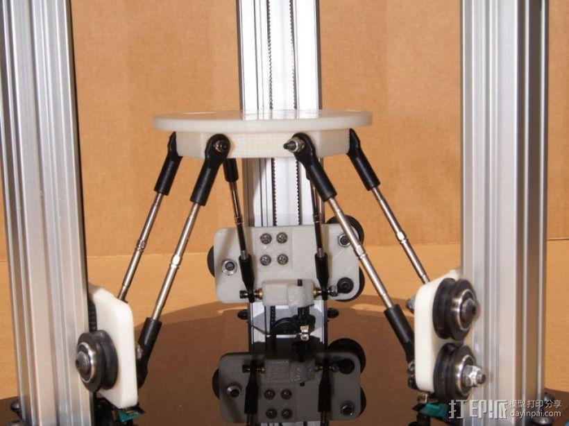 迷你 Delta式打印机 3D模型  图3