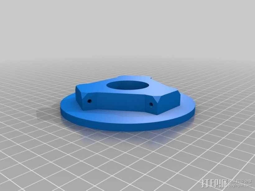 迷你 Delta式打印机 3D模型  图10