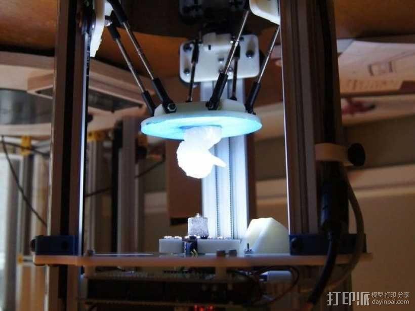 迷你 Delta式打印机 3D模型  图17