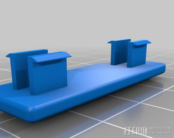 Replicator打印机仪表盘外框 3D模型  图14
