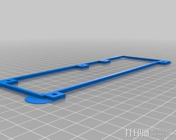 Replicator打印机仪表盘外框 3D模型  图13