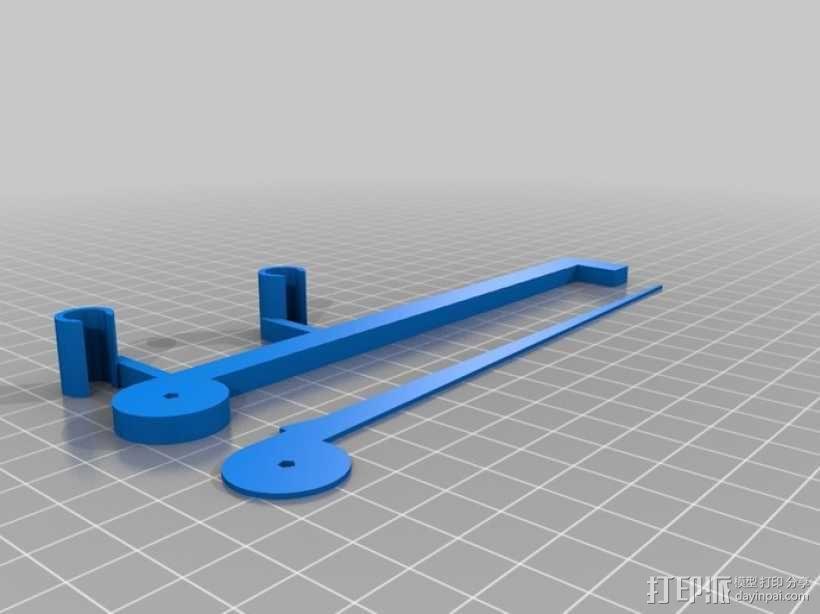 调平器套件 3D模型  图2