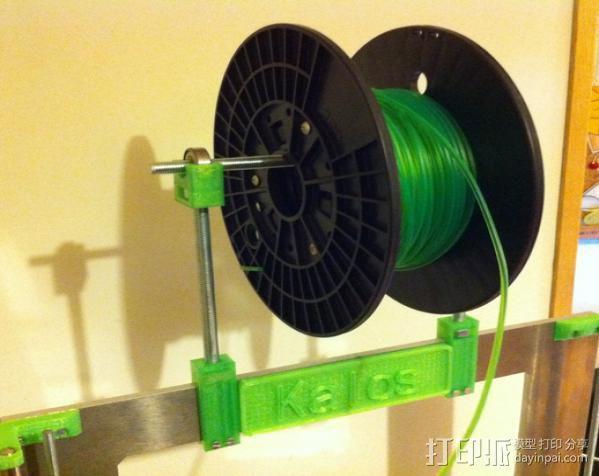 Prusa i3打印机线轴支架 3D模型  图6