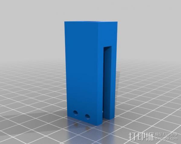 Prusa i3打印机线轴支架 3D模型  图7