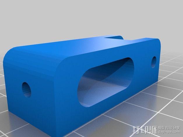 打印机Y轴惰轮 3D模型  图2