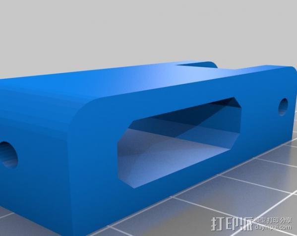 打印机Y轴惰轮 3D模型  图4