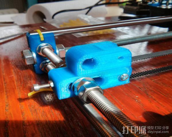 打印机Y轴惰轮 3D模型  图5