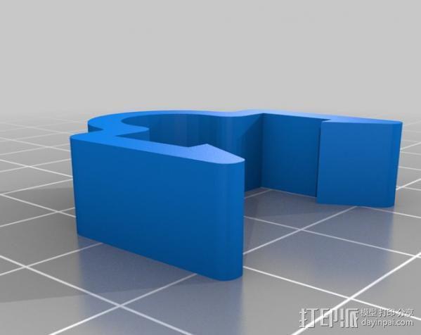 线材夹 3D模型  图4
