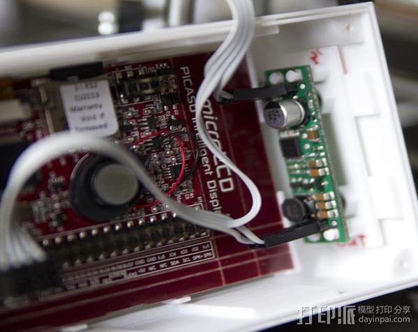 Huxley电路板保护盒 3D模型  图1