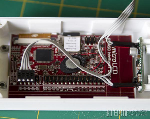 Huxley电路板保护盒 3D模型  图2