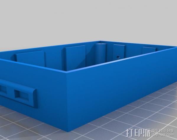Huxley电路板保护盒 3D模型  图7
