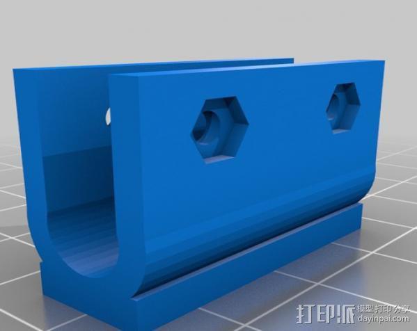 Huxley电路板保护盒 3D模型  图9