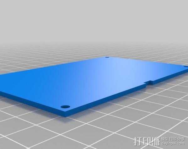 Huxley电路板保护盒 3D模型  图11