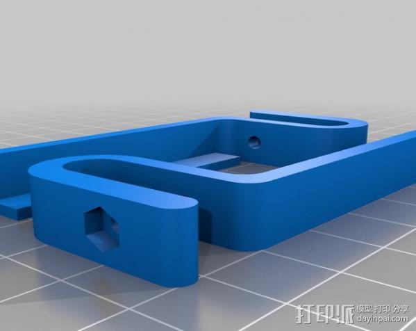 Huxley电路板保护盒 3D模型  图12