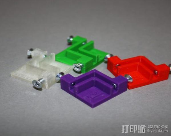 防震器 降噪器  3D模型  图2