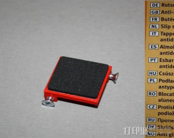防震器 降噪器  3D模型  图3