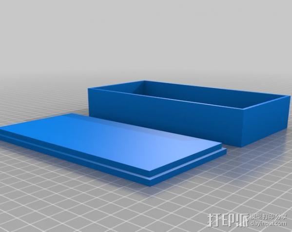 液晶显示屏外壳 3D模型  图2